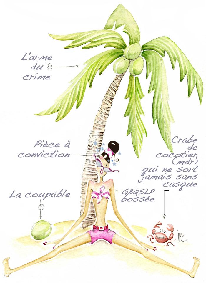 Pourquoi j'ai peur des noix de coco ?!?! (2/4)
