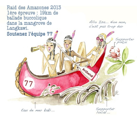 girlzunited canoe